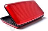 Aluma 6 Card Holder (Set of 1, Red)