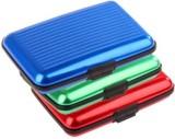 Dogwood 6 Card Holder (Set of 3, Red, Bl...