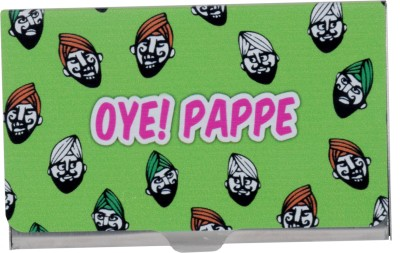 Mad(e) in India Unisex 10 Card Holder