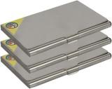 Fox Micro 4 Card Holder (Set of 3, Silve...