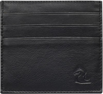 Kara 6 Card Holder(Set of 1, Black)
