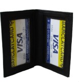 Klaska 2 Card Holder (Set of 1, Black)
