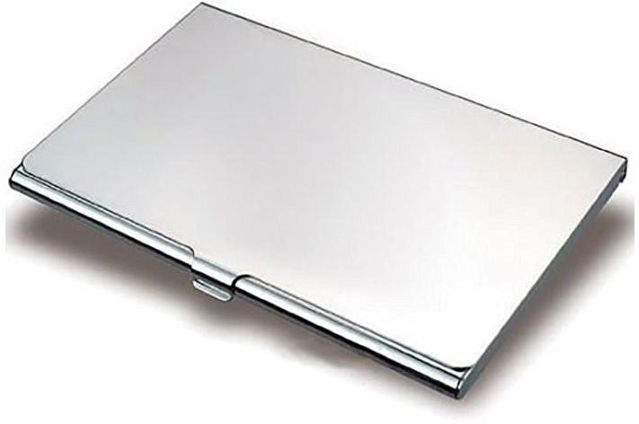 Storite 6 Card Holder(Set of 1, Silver)