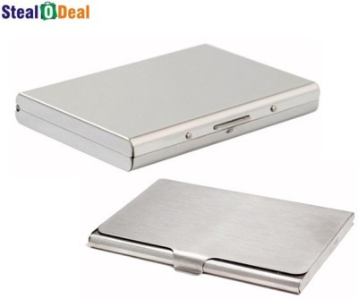 Stealodeal Business Purpose Visa With Steel 6 Card Holder
