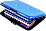 Chevron 6 Card Holder (Set of 1, Blue)