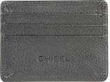 Chisel 4 Card Holder (Set of 1, Black)