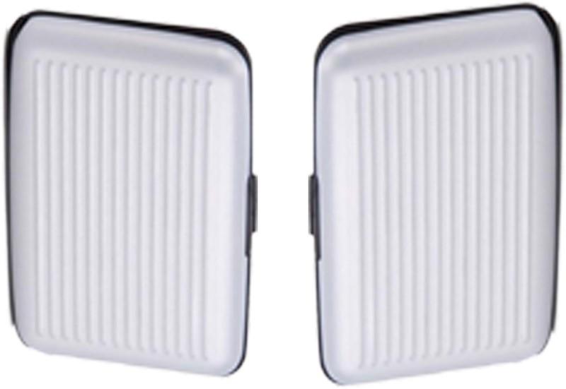 Alexus 6 Card Holder Card Holder Combo of White