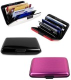 SMT 6 Card Holder (Set of 4, Multicolor)