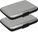 Fox Micro 6 Card Holder (Set of 2, Silve...