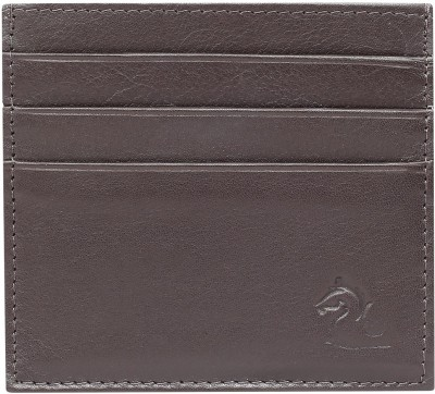 Kara 6 Card Holder(Set of 1, Brown)