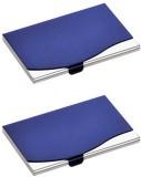 Zarsa 10 Card Holder (Set of 2, Blue)