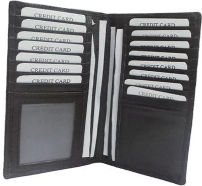 Travel Document Holder 15 Card Holder(Set of 1, Brown)