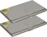 Fox Micro 4 Card Holder (Set of 2, Silve...