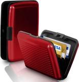 Kcsales 6 Card Holder (Set of 1, Red)