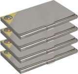 Fox Micro 4 Card Holder (Set of 4, Silve...