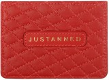 Justanned 4 Card Holder (Set of 1, Red)