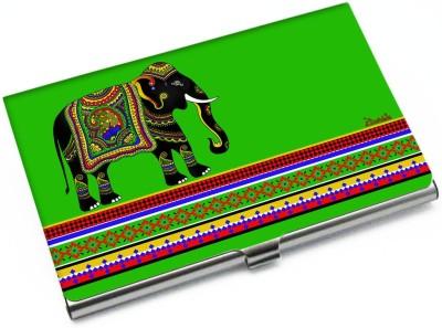 Kolorobia Metallic 10 Card Holder