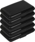 Capstone 6 Card Holder (Set of 5, Black)