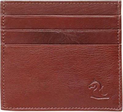 Kara 6 Card Holder(Set of 1, Tan)