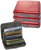 DCH 10 Card Holder (Set of 4, Red)