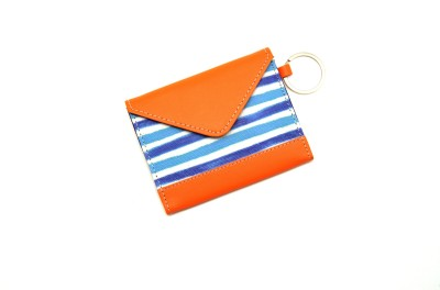 Thathing Blue Stripes 8 Card Holder