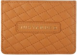 Justanned 4 Card Holder (Set of 1, Tan)