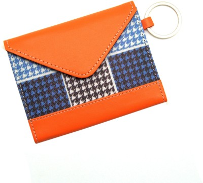Thathing Blue Checkered 8 Card Holder