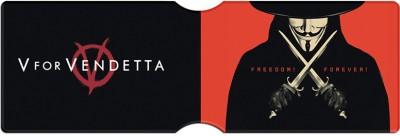 V For Vendetta Freedom Forever 6 Card Holder