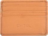 Chisel 4 Card Holder (Set of 1, Tan)