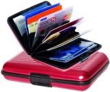 Jazam 6 Card Holder (Set of 1, Red)
