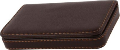 RBD Classic Brown 10 Card Holder