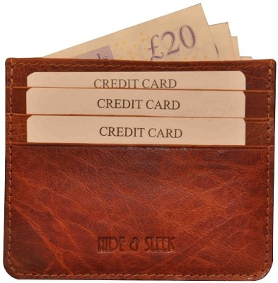 Hide & Sleek Leather Credit 6 Card Holder