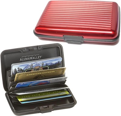 PeepalComm Pc-Alumared1pc 6 Card Holder