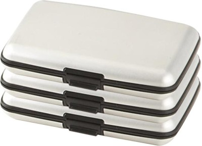 Bemoree Pc-Alumasilver3pc 6 Card Holder