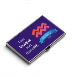 QuoteSutra 10 Card Holder (Set of 1, Blu...
