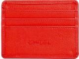 Chisel 4 Card Holder (Set of 1, Red)