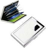 EMPREUS Stainless Steel White 6 Card Hol...
