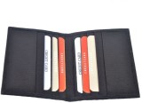 Star Leather 10 Card Holder (Set of 1, B...