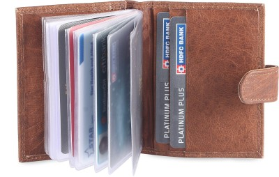 Hide & Sleek 20 Card Holder