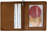Tee Ess 4 Card Holder (Set of 1, Tan)