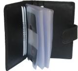 eXcorio 24 Card Holder (Set of 1, Black)