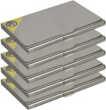 Fox Micro 4 Card Holder (Set of 5, Silve...