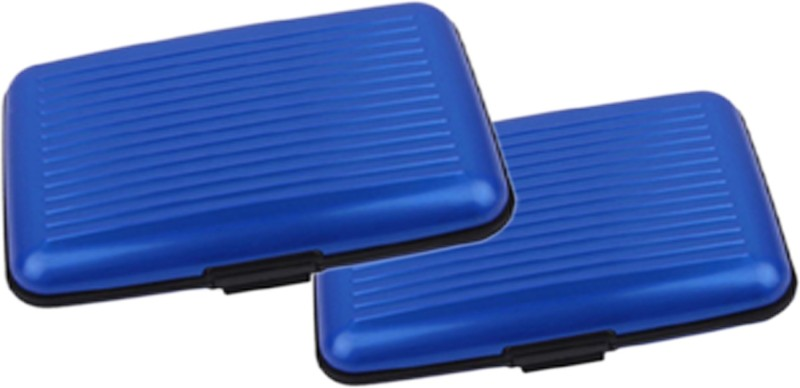 Alexus 6 Card Holder Card Holder Combo of Blue