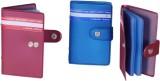 Aahum Sales 10 Card Holder (Set of 3, Mu...