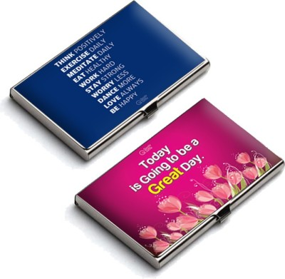 QuoteSutra 10 Card Holder