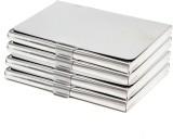 Styzon 6 Card Holder (Set of 4, Silver)