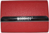 Moochies 15 Card Holder (Set of 1, Red)