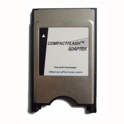 Tech Gear Compact Flash Memory Laptop Adapter Converter Card Reader(Silver)