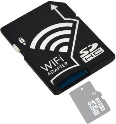 Smiledrive SD Memory Card Wifi (Wireless) Adapter Card Reader(Black)