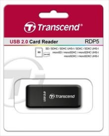 Transcend RDP5 Card Reader(Black)